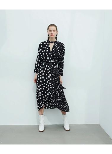 Ipekyol Kadın  Elbise IW6200002263 Siyah